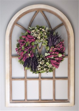 Wreath on Window