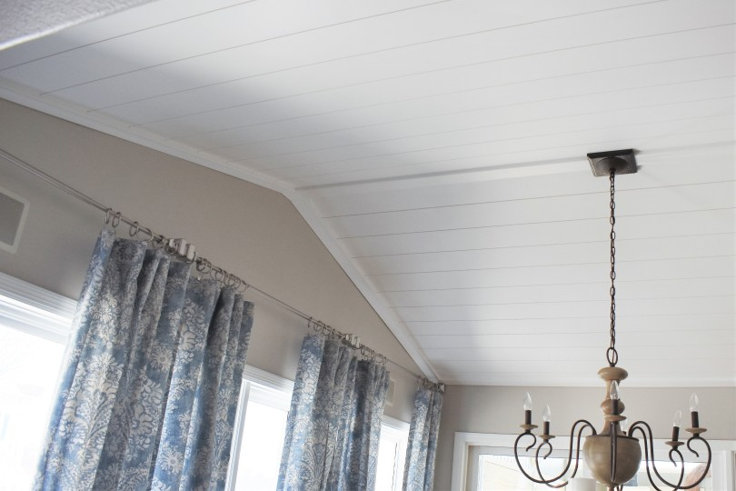 Shiplap Ceiling East