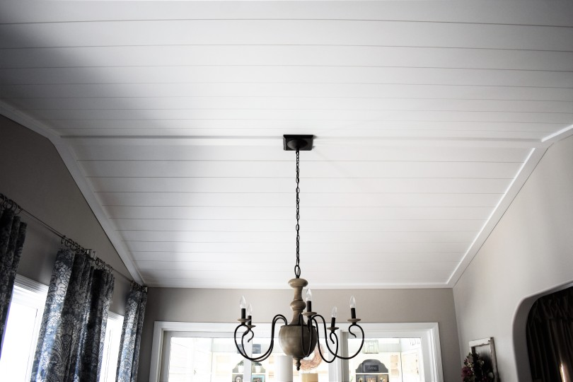 Shiplap Ceiling Wide